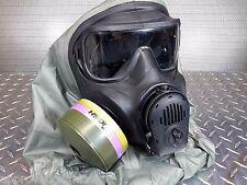 Avon FM53 C50 M50 Protective Gas Mask 40mm NATO wEverything! New NBC/CBRN Filter