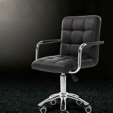 Executive Home Office Chair Pu Leather Computer Desk Task Gas-lift Swivel Black