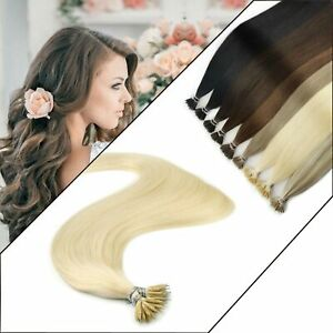 1g 7A Nano Ring tip Highlight Excellent Easy Remy Human Hair Extensions Elegant