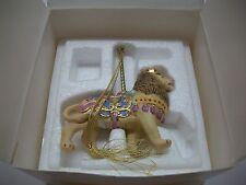 Lenox Ornament 1989 Carousel Animal Lion In Original Box