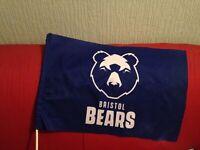 BRISTOL BEARS FLAG TEAM FLAG RUGBY UNION