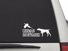 Cw2133 German Shorthaired Pointer Pointing Pheasant Sticker Decal Free Shipping