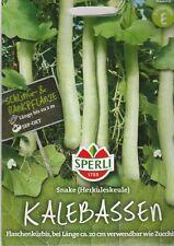 Flaschenkürbis Kalebassen Herkuleskeule Zucchini  Samen Gemüse Sämereien Saatgut