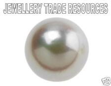 Natural Cultured Pearl 3/4 Cut Half Drilled 7mm