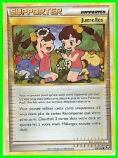 "Carte Pokemon "" SUPPORTER "" HS TRIOMPHE Jumelles 89/102 UNCO ◊   VF"