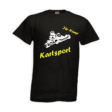 KART-Sport-cooles T-Shirt mit Namen