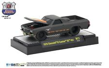 M2 Chevrolet El Camino SS454 1970 Matte Black Ground Pounders 82161-17 1/64