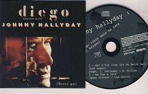 JOHNNY HALLYDAY ■ LIVE 1991 ■ DIEGO ( CD 3 Titres )