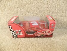 New 1998 Action 1:64 Diecast NASCAR Dale Earnhardt Sr Clear Window Red Net