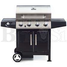 Barbecue BBQ a gas 17Kw 4 bruciatori inox cottura con pietra lavica Golosone 4