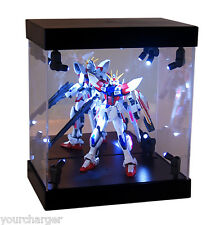 MB Display Box Acrylic Case LED Light House for Gundam 1/144 Model Action Figure