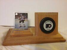 Philadelphia Flyers Hockey puck and card holder