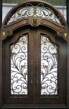 "Hand-Crafted 72"" X 132"" Wrought Iron Entry Doors - $5250 (All in 12 Gauge Iron)"