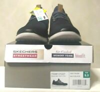 Skechers Men's Air Cooled Memory Foam Relaxed Fit Slip On Shoe Size 9.5