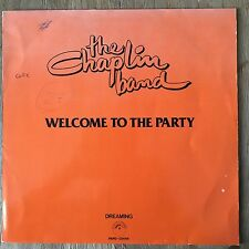 """Chaplin Band Welcome To The Party 12"""" maxi 80s dutch funk soul disco rare groove"""