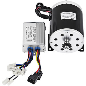 36V DC Electric Brushed speed Motor 800W and Controller Go Kart Bicycle ATV