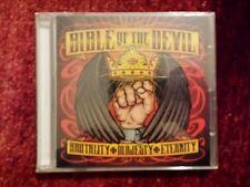 BIBLE OF THE DEVIL - BRUTALITY MAJASTY ETERNITY. SEALED CD