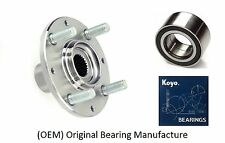 1992-2000 HONDA Civic Front Wheel Hub & (OEM) KOYO Bearing Kit (DX, CX, HX)