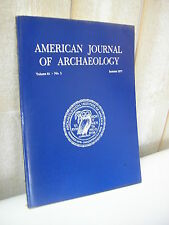 AMERICAN JOURNAL of ARCHAEOLOGY 1977 N°3