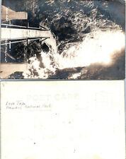 Early 1900s Lava Tube Hawaii National Park VIntage POSTCARD