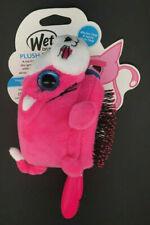 """Wet Brush Plush Brush Pink Cat Kids Brush 7"""""""