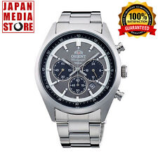 ORIENT Neo70's WV0011TX Solar Chronograph Elegant Watch 100% Genuine JAPAN