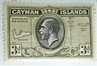 1935 CAYMAN ISLANDS, MINT, SCOTT #91