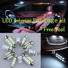 LED Interior Package Kit Bulb Xenon White 6pc For 11-16 Hyundai Elantra GT RU