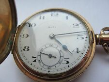 Reloj De Bolsillo Vintage Completo Cazador Rolex Entubado