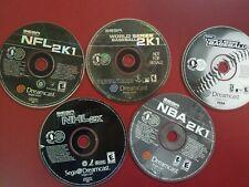 Lot Of 5 Sega Dreamcast Games