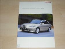 44741) Honda Civic IMA Prospekt 03/2004