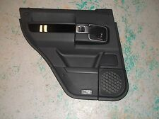 10 11 12 Range Rover Left Rear Door Panel W. Piano Wood Trim Driver Side Black