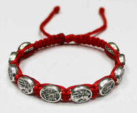 St Michael the Archangel the and Guardian Angel bracelet Red Cord St Michael