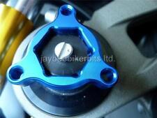 FORK PRE ADJUSTERS BLUE 14MM Suzuki GSR750 GSX1300BK BKing GSX1400 GSXR1000 R1C7