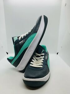 Puma GV Special Shoes Style #343569-71 Color:Gray /White/mint Size 9 Excellent