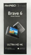 AKASO Brave 6 4K 20MP WiFi Action Camera Voice Control EIS Web Camcorder