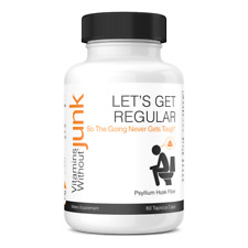 Let's Get Regular (Psyllium Husk Fiber) Constipation Relief Veggie Capsule