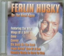 FERLIN HUSKY - On The Road Again - CD - NEW - 15 SONGS