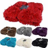 Luxury Super Soft Long Pile Throw Blanket Faux Fur Warm Shaggy Cover 150x200cm