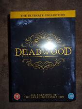 """Pack DVD """"Deadwood"""" Serie Completa (inglés) [NUEVO PRECINTADO]"""
