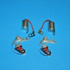 Two Sets of Points & Condensers for Triumph Tr3 Tr4 Tr4A Tr250 Tr6 25D4 25D6
