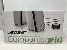 Bose Companion 20 Multimedia Speaker System - Silver - New in Box