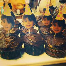 Photo cupcake topper