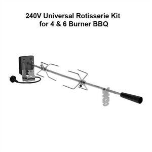 240V Universal Rotisserie Kit for 4 and 6 Burner BBQ