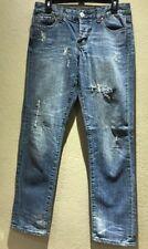 Seven Brand Women's Jeans Size 28 Medium Wash Boyfriend Distressed Style