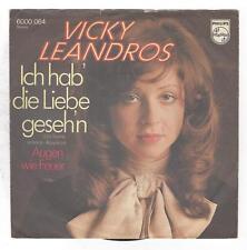 Vicky Leandros : Ich hab die Liebe gesehn + Augen wie Feuer - Vinyl Single 1972
