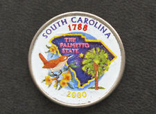 2001-P North Carolina Statehood Commemorative Quarter with Painted Obverse D7649