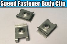 10x U nut for BMW Speed Fastener Body Chassis Sheet Metal Nut Clip Fixing
