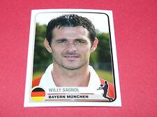96 WILLY SAGNOL BAYERN MÜNCHEN UEFA PANINI FOOTBALL CHAMPIONS LEAGUE 2005 2006