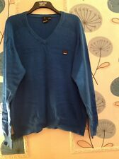 Mens Bench jumper/top size XXL, Blue 100% Cotton, Long sleeves, GUC.